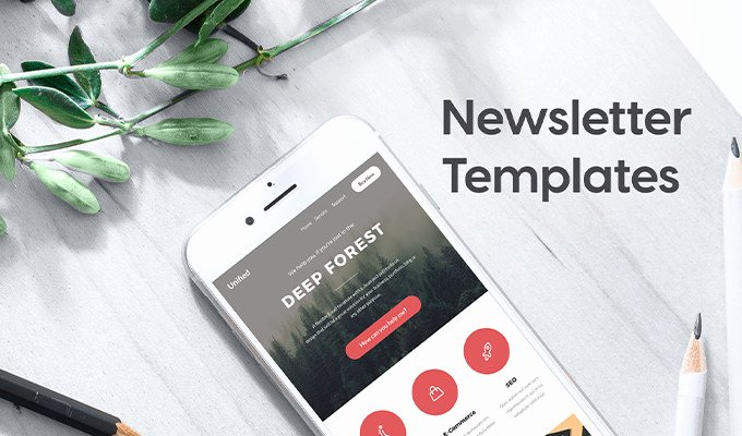 Printed Newsletter Templates Free New 20 Stunning Newsletter Templates for Print & Email