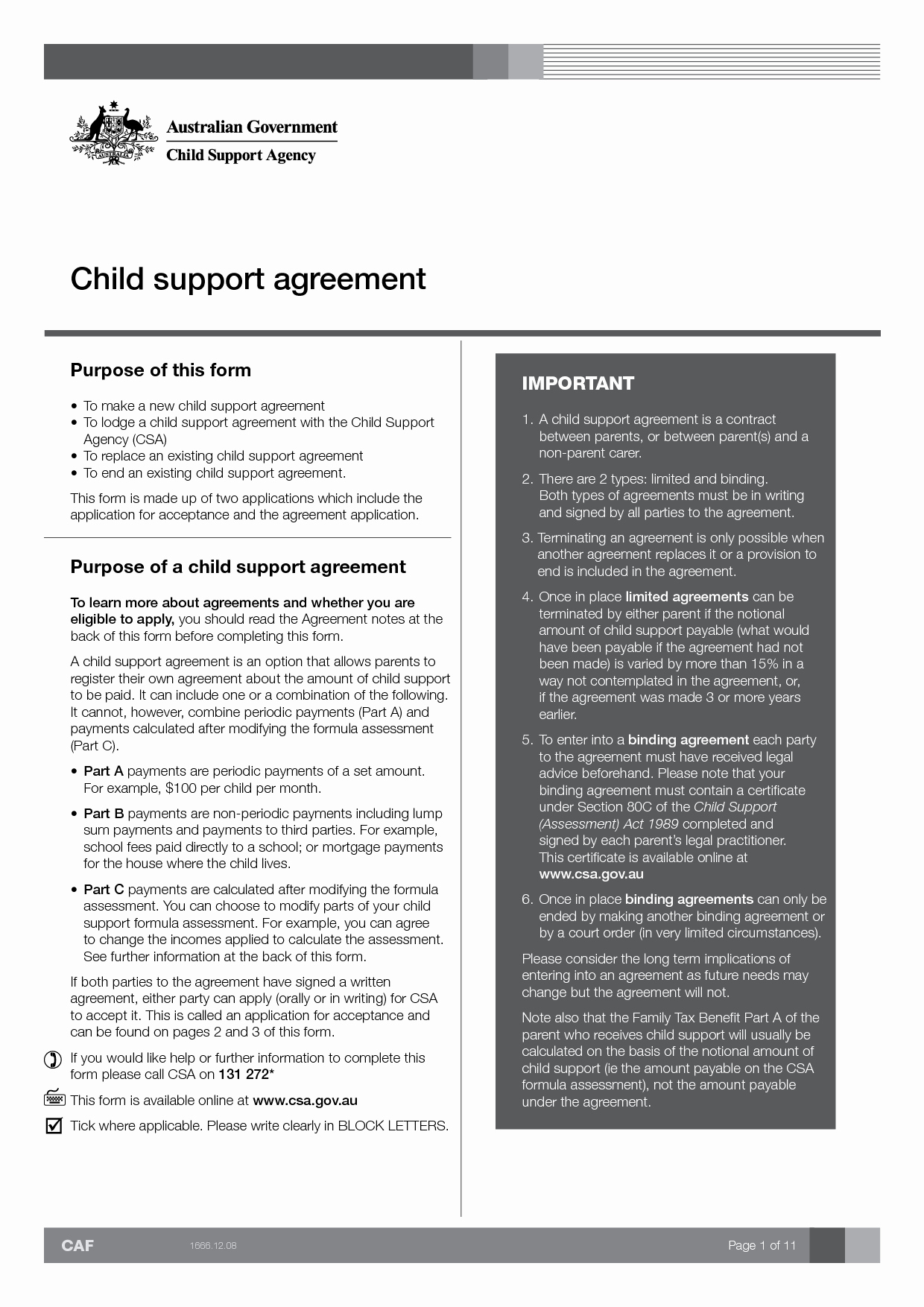 Private Child Support Agreement Template Unique Child Support Agreement Between Parents form Free