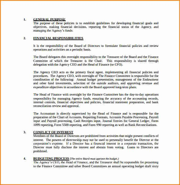 Procedure Manual Template Word Awesome 7 Payroll Policy and Procedure Template