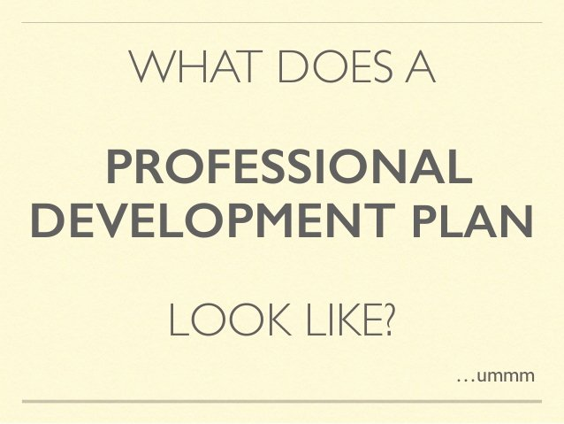 Professional Growth Plan Templates Lovely Untangling the Professional Development Plan A How to
