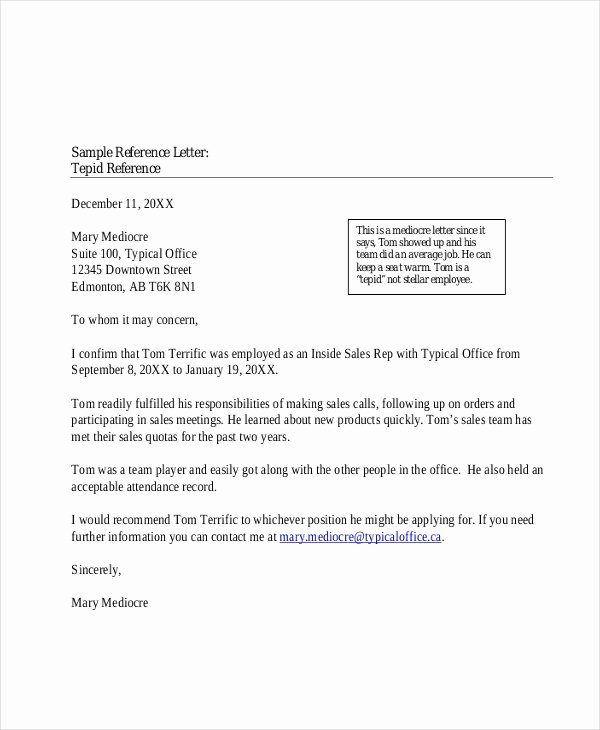 Professional Reference Letter Template Luxury Free 5 Sample Professional Reference Letters In Pdf