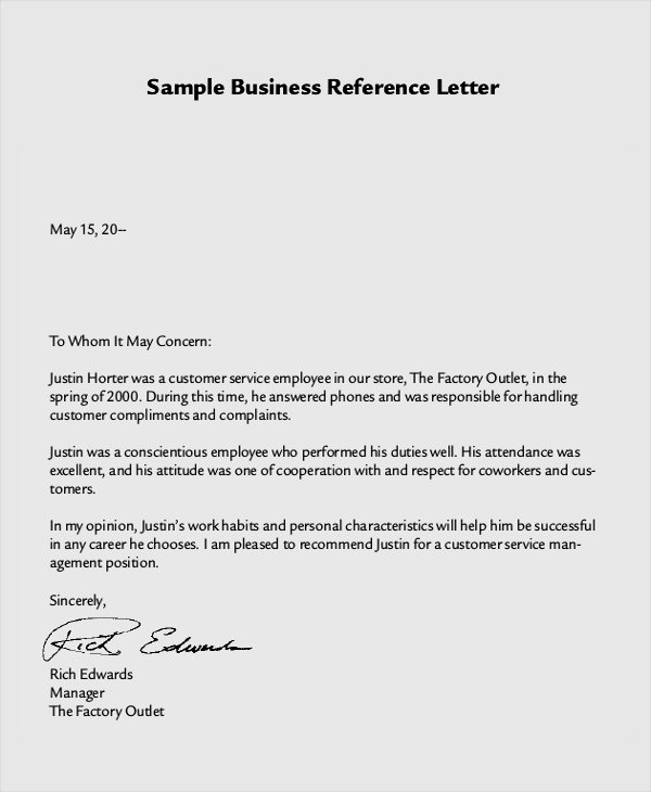 Professional Reference Letter Template Word Luxury 8 Reference Letter Samples Examples Templates
