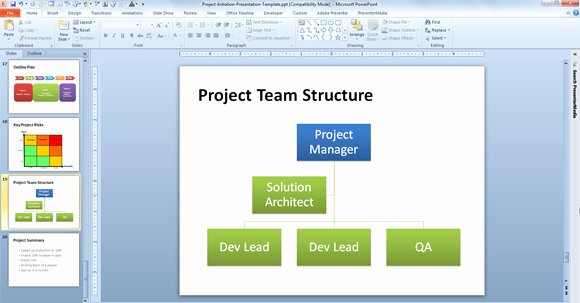 Project organization Chart Template Awesome Free Agile Project Planning Template for Powerpoint