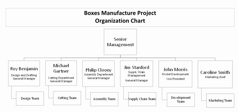 Project organization Chart Template Inspirational Planning Engineer Project Planning Case Study 20 Pages