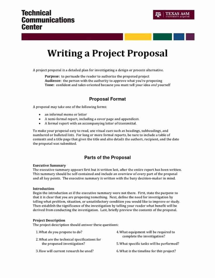Project Proposal Template Word Beautiful top 5 Resources to Get Free Project Proposal Templates