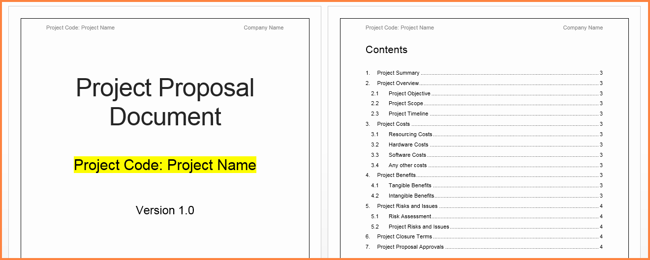Project Proposal Template Word Elegant 8 Project Proposal Template Word