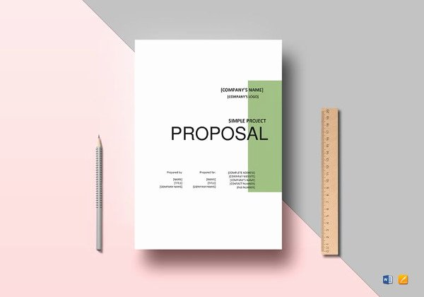 Project Proposal Template Word New Project Proposal Template 24 Free Word Pdf Psd