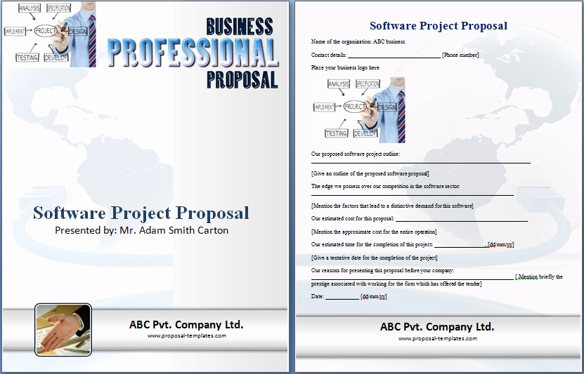 Project Proposal Template Word Unique 20 Free Project Proposal Template Ms Word Pdf Docx