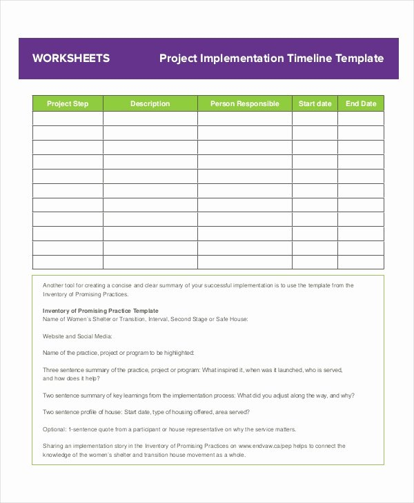 Project Timeline Template Word Elegant Project Timeline Example 8 Free Word Pdf Documents