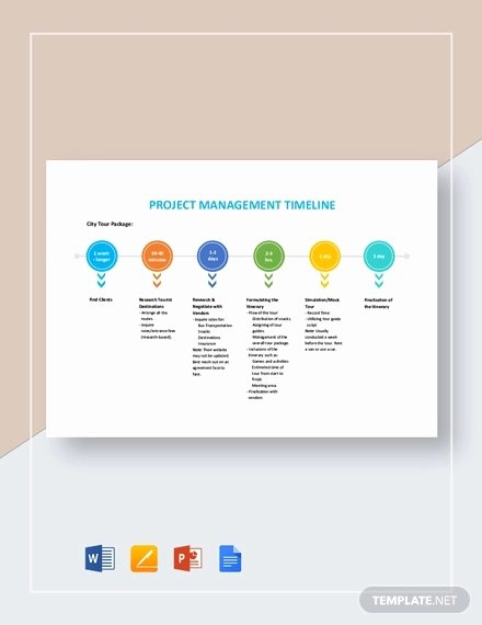 Project Timeline Template Word Elegant Timeline Template 71 Free Word Excel Pdf Ppt Psd