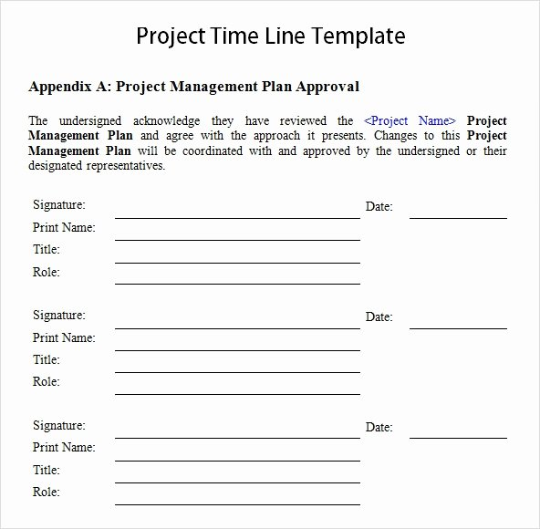 Project Timeline Template Word Lovely Free 10 Sample Project Timeline Templates In Word