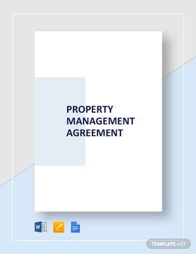 Property Management Contract Template Awesome 19 Property Management Templates Ai Indesign Ms Word