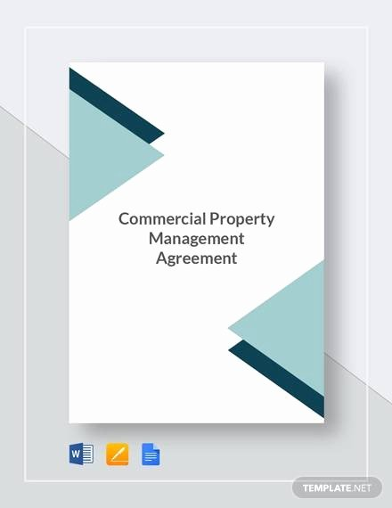 Property Management Contract Template Awesome 8 Sample Mercial Property Management Agreements Word