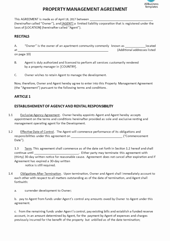 Property Management Contract Template Luxury Property Maintenance Log Template
