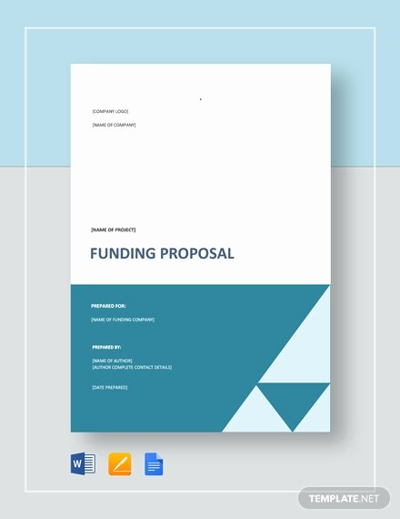 Proposal for Funding Template Best Of 146 Free Proposal Templates