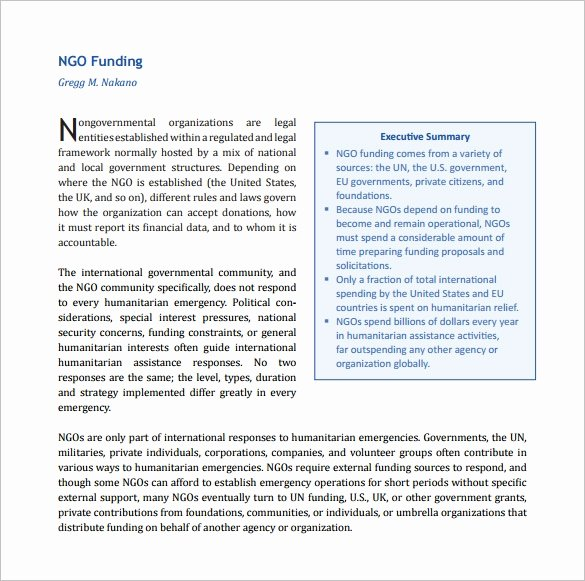 Proposal for Funding Template Fresh 17 Funding Proposal Templates Word Pdf Pages