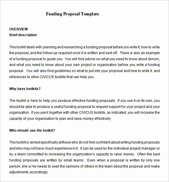 Proposal for Funding Template Luxury 17 Funding Proposal Templates Word Pdf Pages