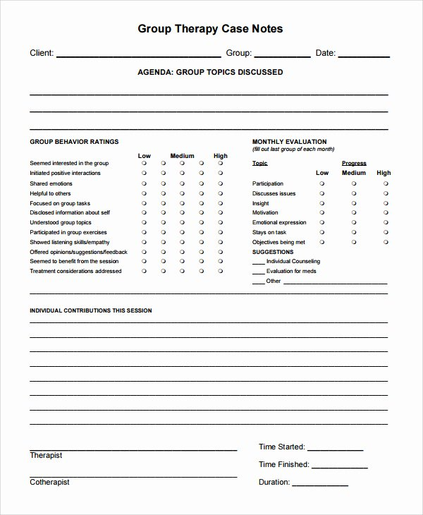 Psychotherapy Progress Note Template Pdf Best Of Psychotherapy Progress Note Template Pdf