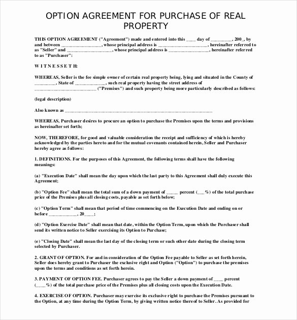 Purchase Agreement Template Free Lovely 28 Purchase Agreement Templates – Word Pdf Pages