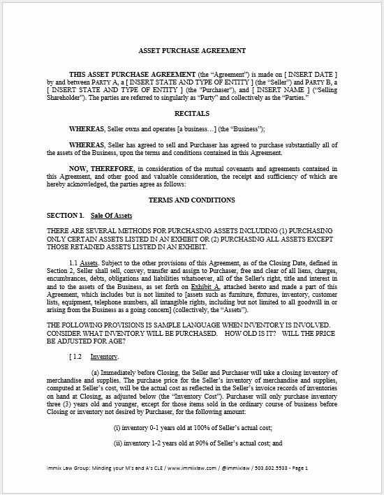 Purchase Agreement Template Word Best Of 23 Free Purchase Contract Templates Word Templates