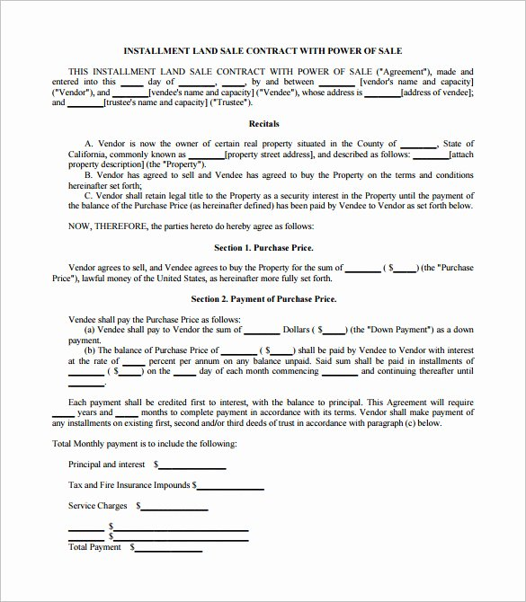 Purchase Agreement Template Word Unique 23 Sales Contract Templates Word Pdf Google Docs