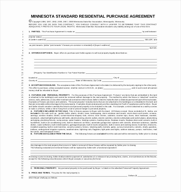 Purchase Agreement Template Word Unique Purchase Agreement Template 28 Free Word Pdf Document