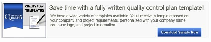 Quality Control Plan Template Construction Lovely What is A Construction Project Quality Plan