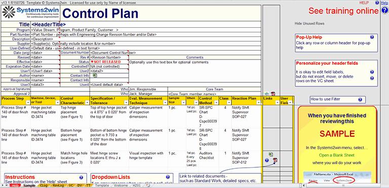 Quality Control Plan Template Excel Elegant Quality Control Plan Template