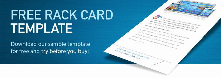 Rack Card Template Word Beautiful Free Rack Card Templates