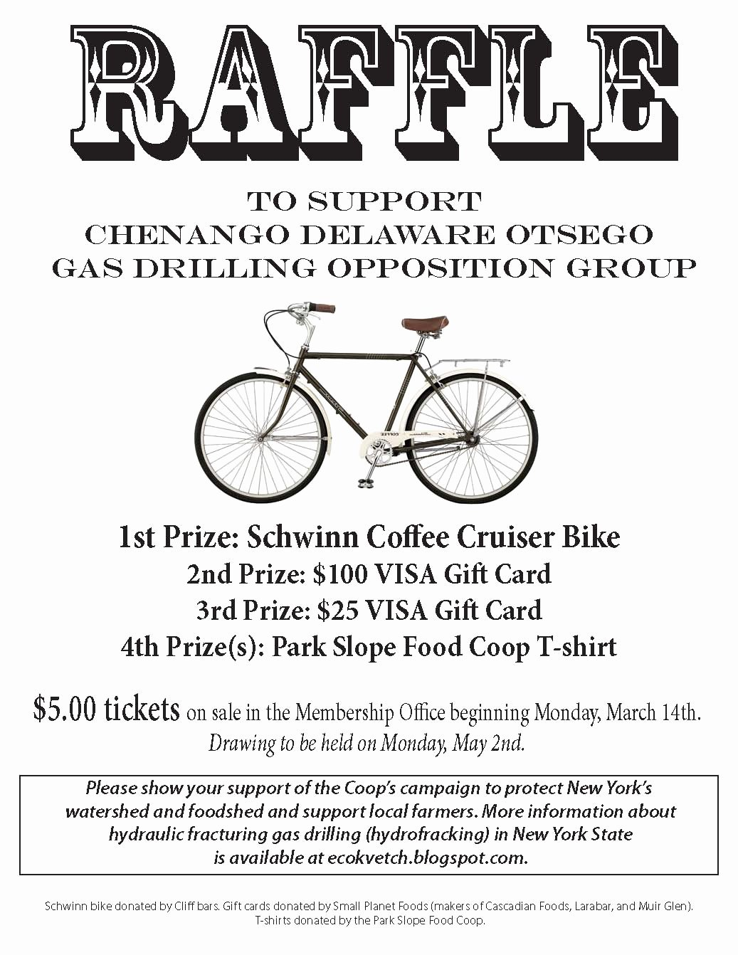 Raffle Flyer Template Free Inspirational Psfc Bicycle Raffle