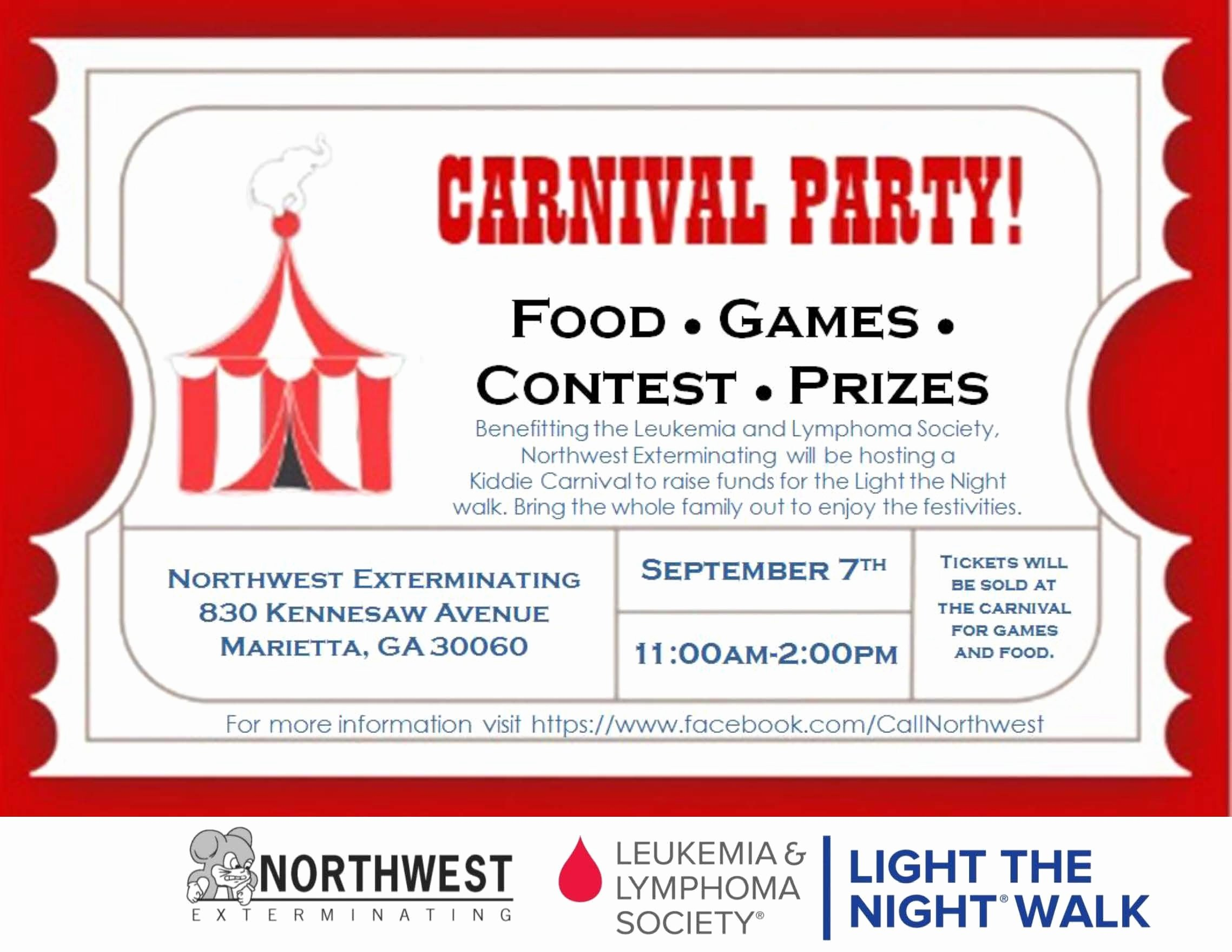 Raffle Flyer Template Free New Ltn Carnival Flyer 9 7 13 Viking Night