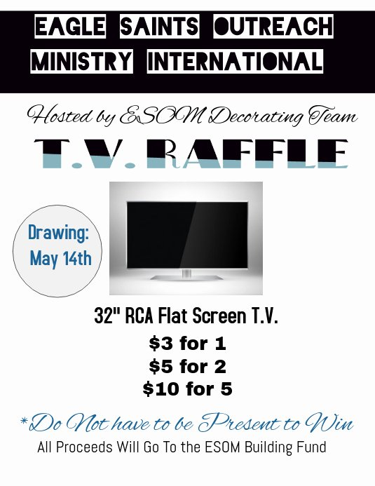 Raffle Flyer Template Free Unique T V Raffle Ticket Flyer Template