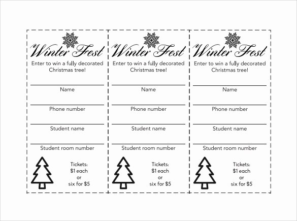 Raffle Tickets Template Word Best Of Sample Raffle Ticket Template 20 Pdf Psd Illustration