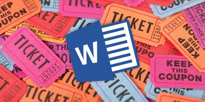Raffle Tickets Template Word Unique How to Get A Free Raffle Ticket Template for Microsoft Word