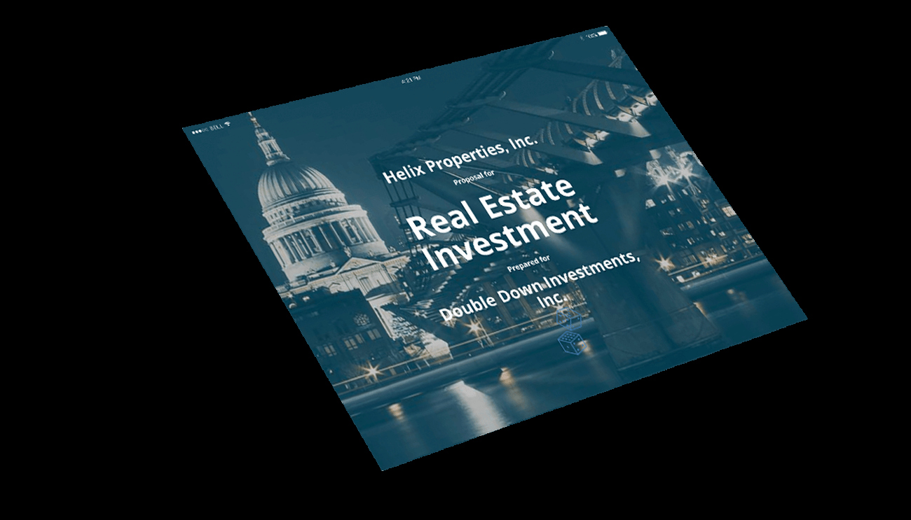 Real Estate Investment Proposal Template Fresh Real Estate Investment Proposal Template Professional