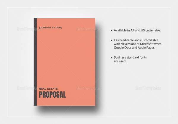 Real Estate Investment Proposal Template Fresh Sample Real Estate Proposal Template 9 Free Documents