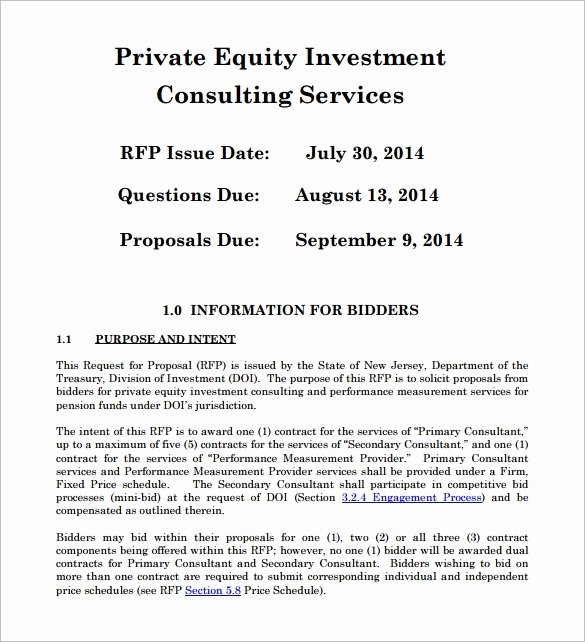 Real Estate Investment Proposal Template Luxury 30 Investment Proposal Templates Word Pdf Google Docs