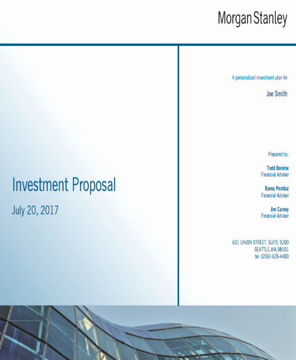 Real Estate Investment Proposal Template Unique 12 Real Estate Investment Proposal Templates Pdf Word