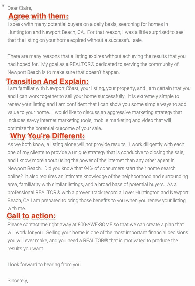 Real Estate Letter Templates Best Of the Best Expired Listing Letter Sample Templates to Use now