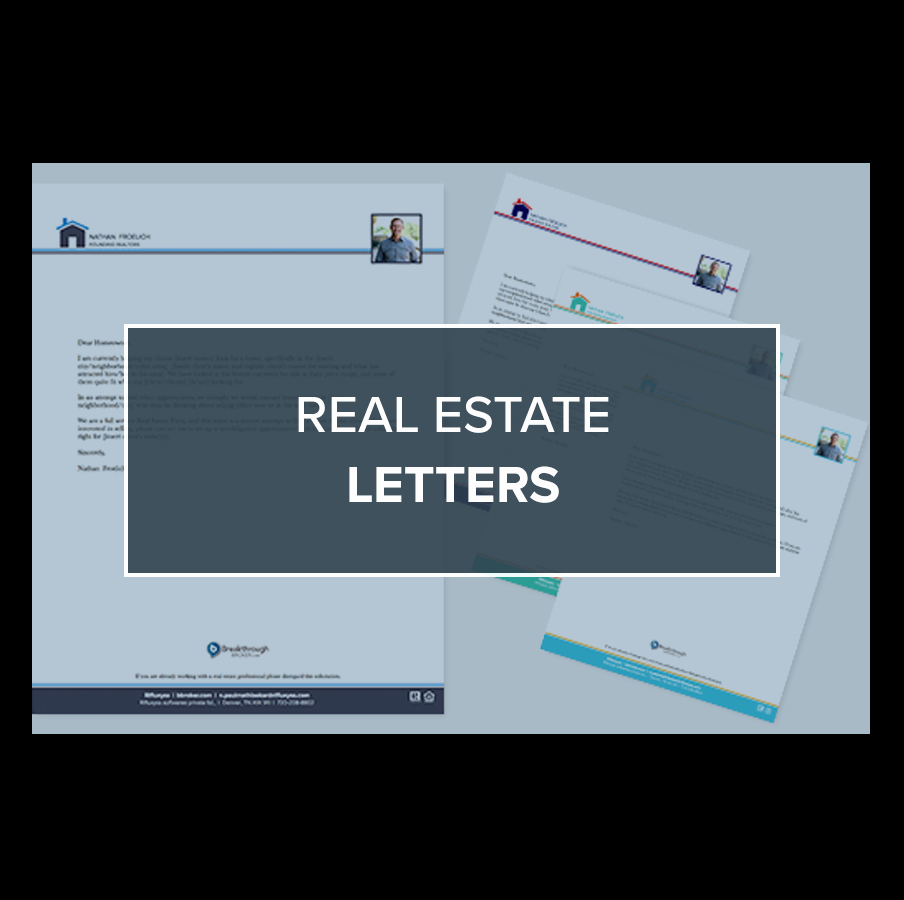Real Estate Letter Templates Inspirational Free Real Estate Letter Templates