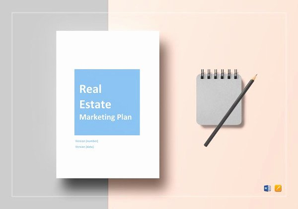Real Estate Marketing Plan Template Best Of 16 Real Estate Marketing Plan Free Sample Example