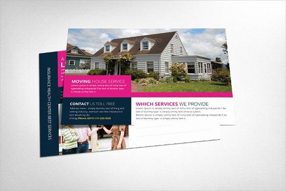 Real Estate Postcard Templates Beautiful Realtor Postcard Template – 18 Free Psd Vector Eps Ai