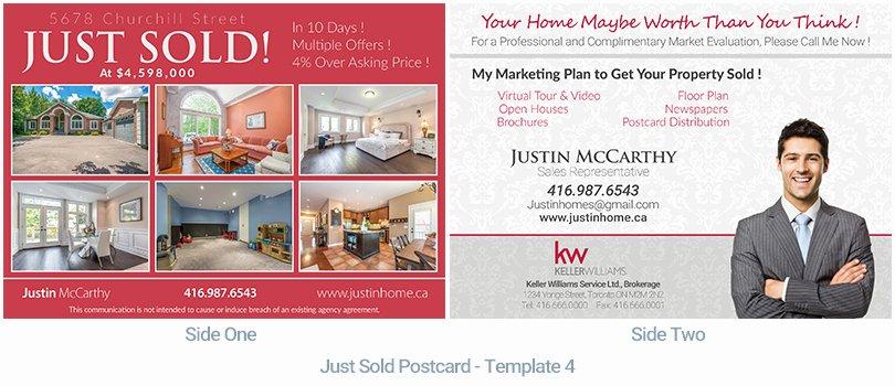 Real Estate Postcard Templates Best Of Real Estate Postcard Houssmax
