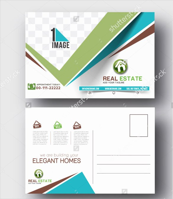 Real Estate Postcards Templates Awesome 18 Real Estate Postcard Templates – Free Sample Example