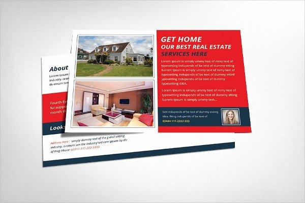 Real Estate Postcards Templates Elegant Real Estate Postcard Template 25 Psd Ai Eps format