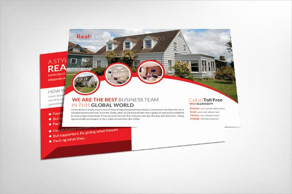 Real Estate Postcards Templates Elegant Realtor Postcard Template – 18 Free Psd Vector Eps Ai