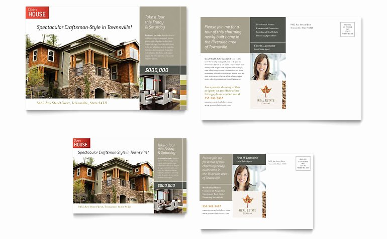 Real Estate Postcards Templates Free Beautiful Free Postcard Template Word & Publisher Templates
