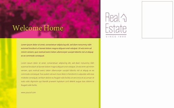 Real Estate Postcards Templates Free Lovely Real Estate Postcard Template