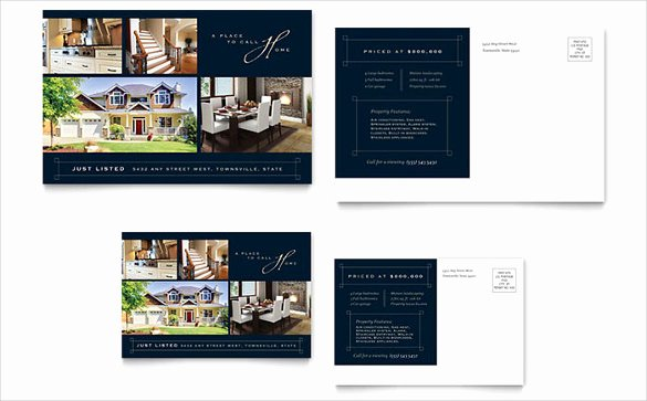 Real Estate Postcards Templates Free New 28 Free Postcard Templates Psd Vector Eps Ai format