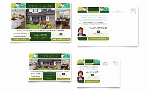 Real Estate Postcards Templates Free Unique Real Estate Postcard Templates Word & Publisher